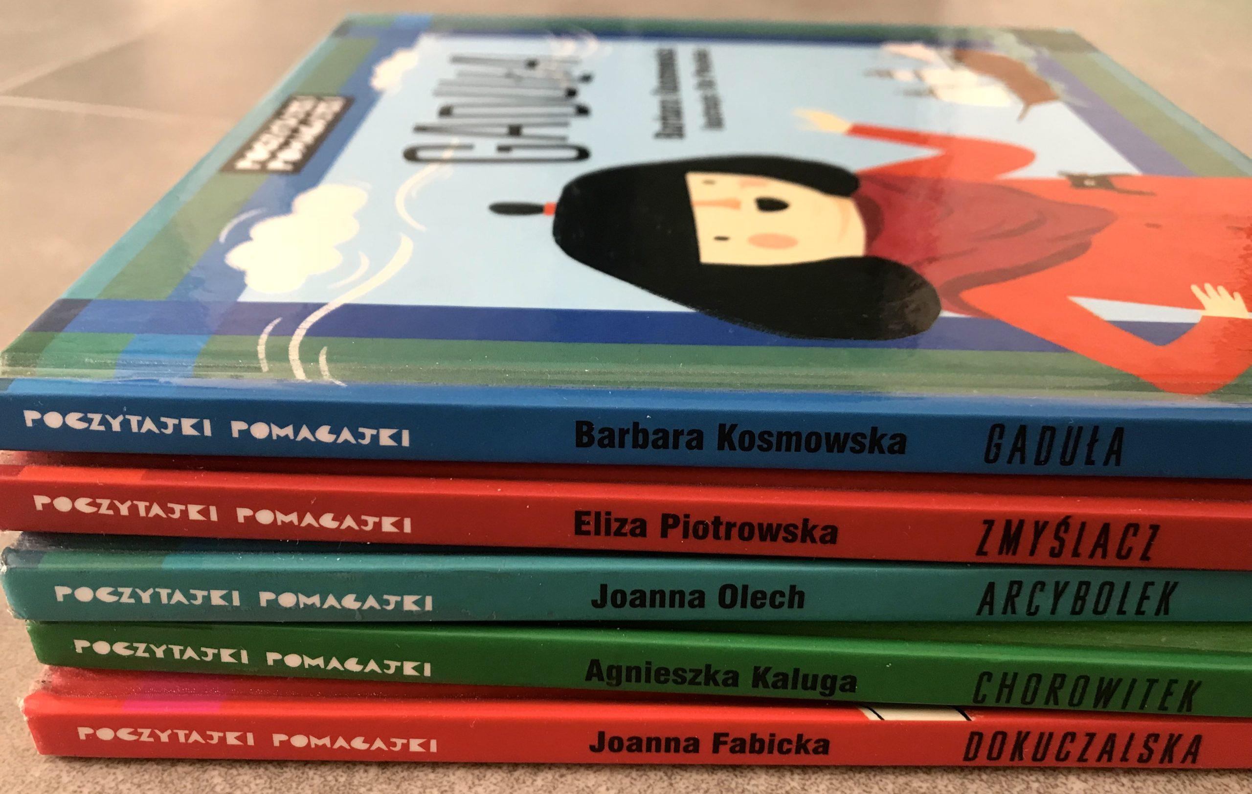 Poczytajki – Pomagajki – książeczki na dziecięce problemy.