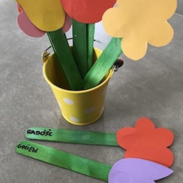 Wiosenne kwiatki pełne emocji :)