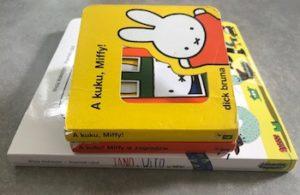 Książki dla najmłodszych: Jan i Wito w domu oraz Miffy :)